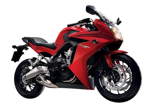 ราคา CBR650F-red