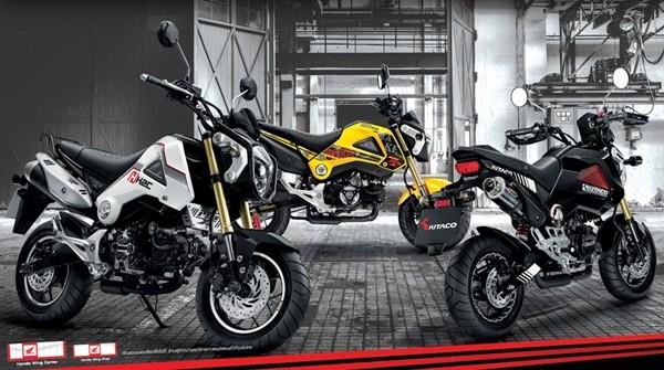 2015-Honda MSX 125
