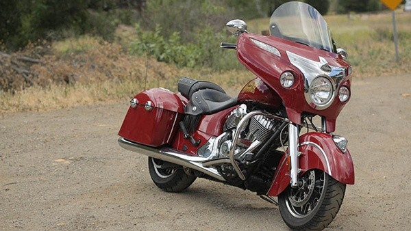 Indian Chieftainสีแดง