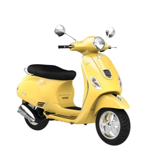 Vespa LX 125 yellow