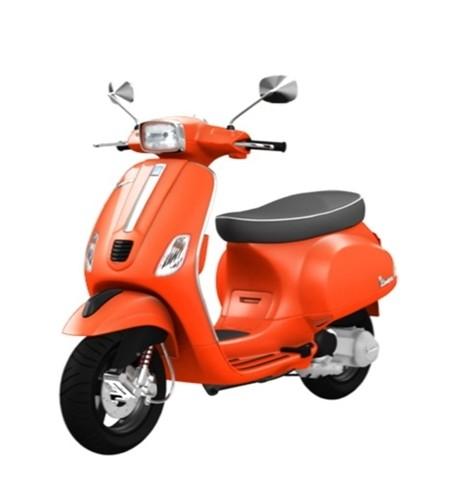 Vespa S125 orange