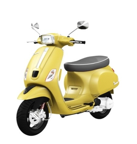 Vespa S125 3Vie yellow (1)