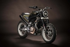 Hasqvarna 401 Concept ที่ใช้ KTM DUKE 390 มาเป็นต้นแบบในการผลิต