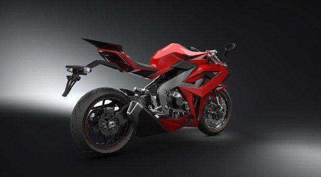 Chak Motor Molot สีแดง