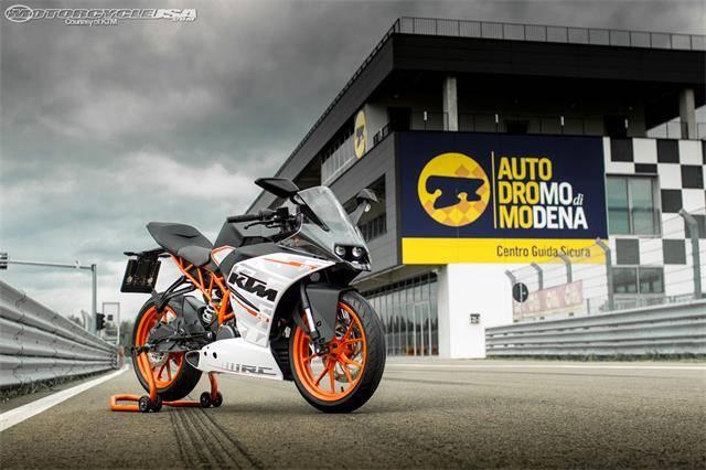 2015 KTM RC390