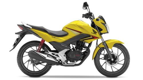 Honda CB125F สีเหลือง