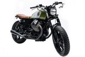 La Bastarda โมดิฟายด์มาจาก Moto Guzzi v7 Stone