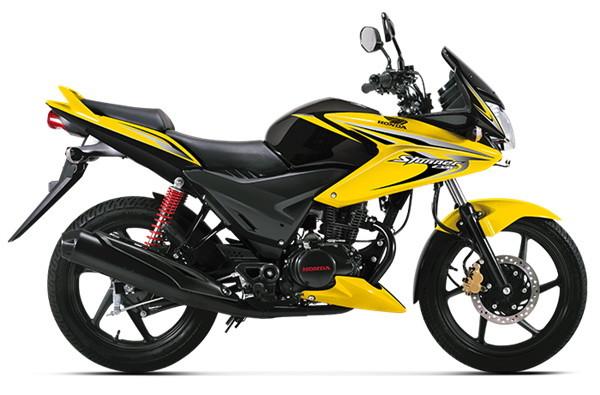 Honda CBF Stunner_yellow