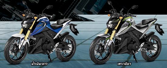 เฉดสี Yamaha M-Slaz 2016
