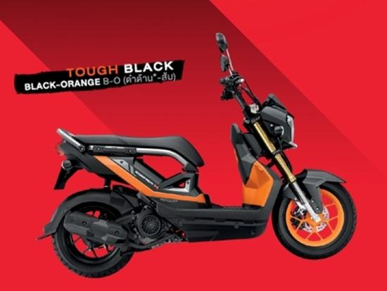 Zoomer-X สีดำส้ม