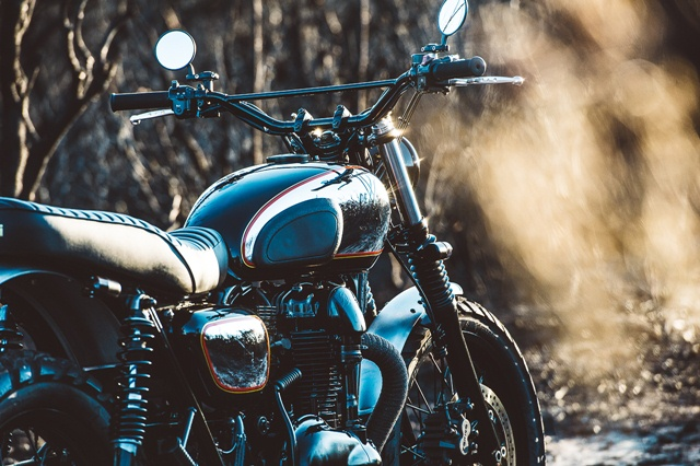 Kawasaki W650 แต่ง
