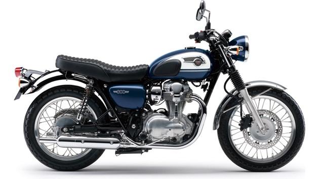 ราคา KAWASAKI W800 สีน้ำเงิน