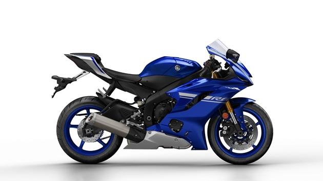 ราคา Yamaha YZF-R6 สีน้ำเงิน
