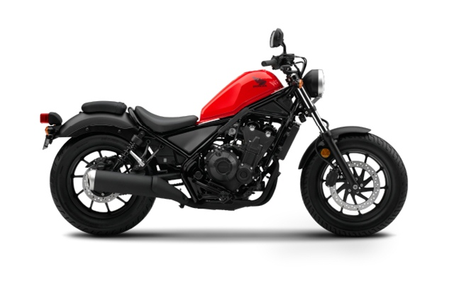 Honda Rebel 2017 สีแดง