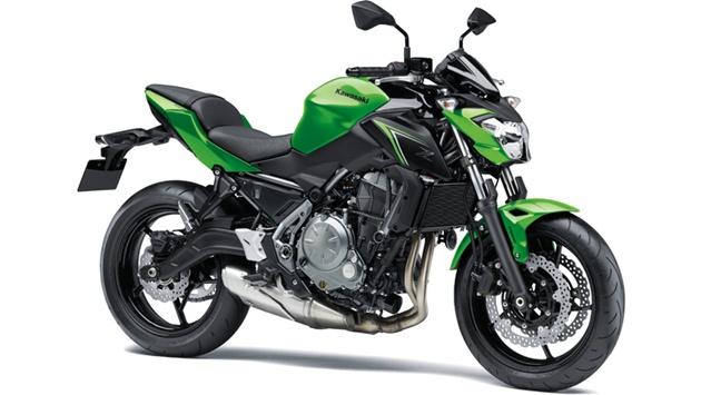 KAWASAKI Z650 ABS สีเขียว