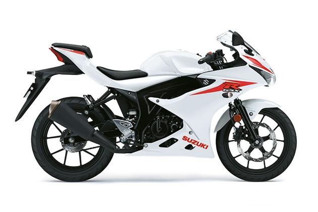 Suzuki GSX-R125 สีขาว