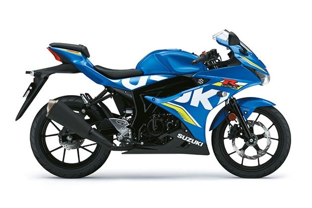 Suzuki GSX-R125 สีน้ำเงิน