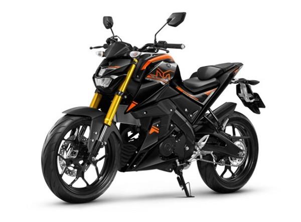 ราคา Yamaha M-Slaz 2017 สีดำส้ม