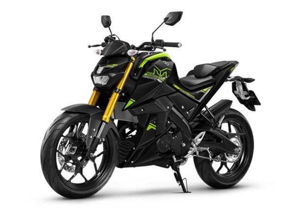 ราคา Yamaha M-Slaz 2017 สีดำเขียว