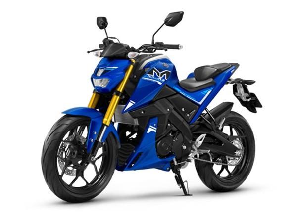 ราคา Yamaha M-Slaz 2017 สีน้ำเงิน