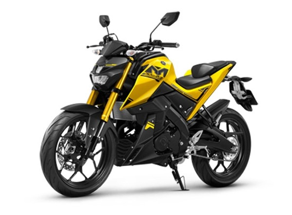 ราคา Yamaha M-Slaz 2017 สีเหลือง