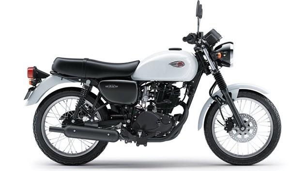 เฉดสีและราคา Kawasaki W175 ในปี 2019