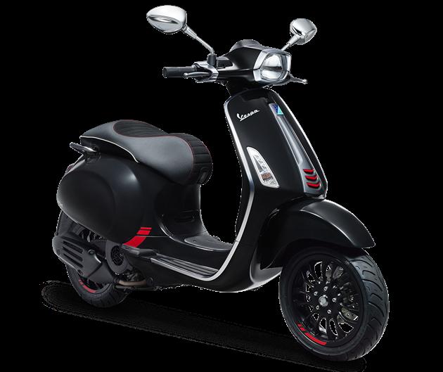 ราคา Vespa Sprint 150 i-Get Carbon Edition