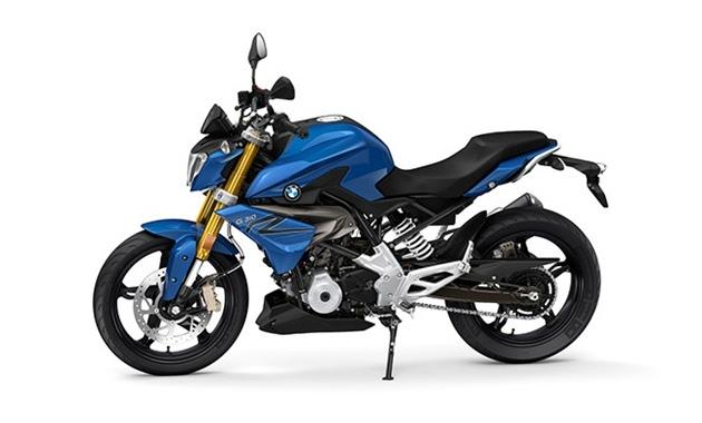 เฉดสีและราคา BMW G310R สีน้ำเงิน