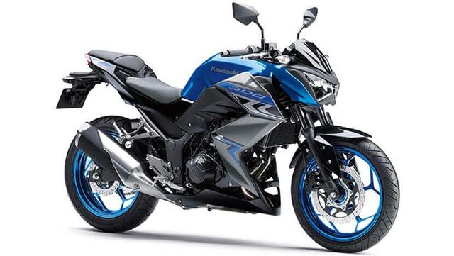 ราคา Kawasaki Z300 สีน้ำเงิน รุ่นใหม่ล่าสุด