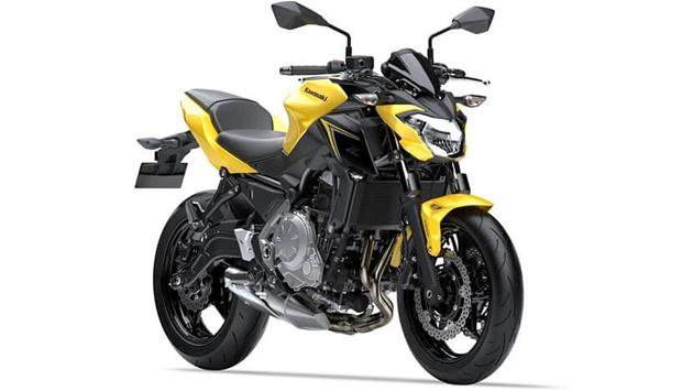 รุ่นและราคา KAWASAKI Z650 ABS2019 สีเหลือง-ดำ