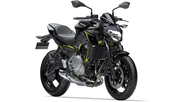 ราคา Z650 สีดำตัดเขียว