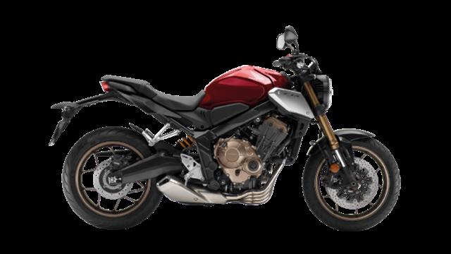 ราคา Honda CB650R 2019 สีแดง