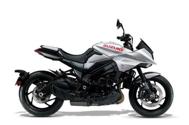 เฉดสี Suzuki KATANA 2019 รุ่นใหม่