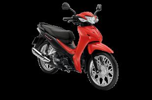 ราคา Honda Wave110i 2019 สีแดง-ดำ