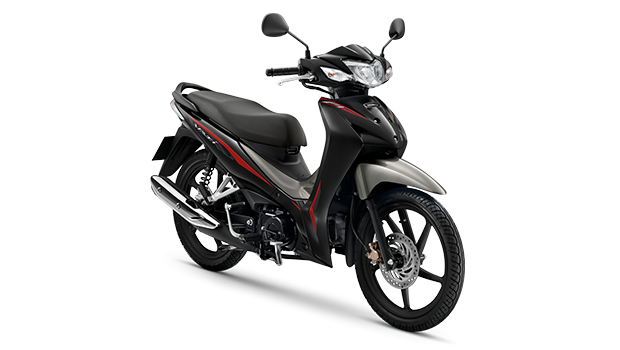 Honda Wave110i 2019 สีดำ-เทา