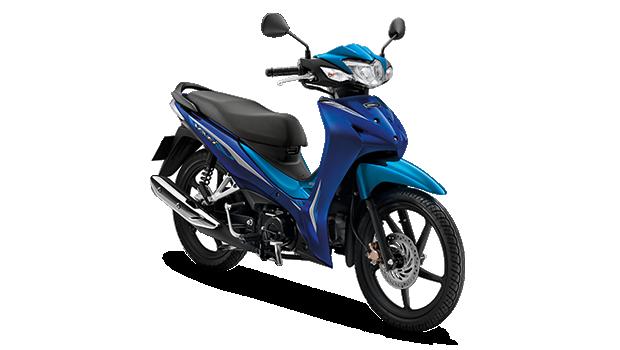 Honda Wave110i 2019 สีน้ำเงิน-ฟ้า