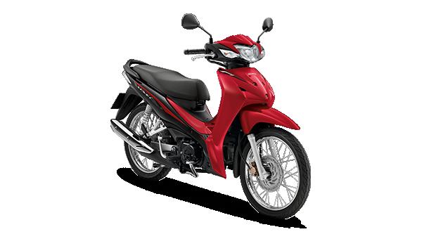 Honda Wave110i 2019 สีแดง-ดำ