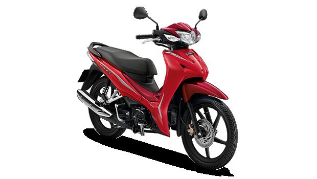 Honda Wave110i 2019 สีแดง